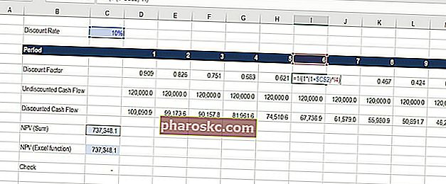 rabatfaktor Excel-skabelon download